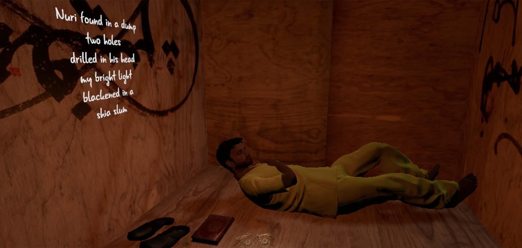 Scene 3: Abu Bakr Cell
