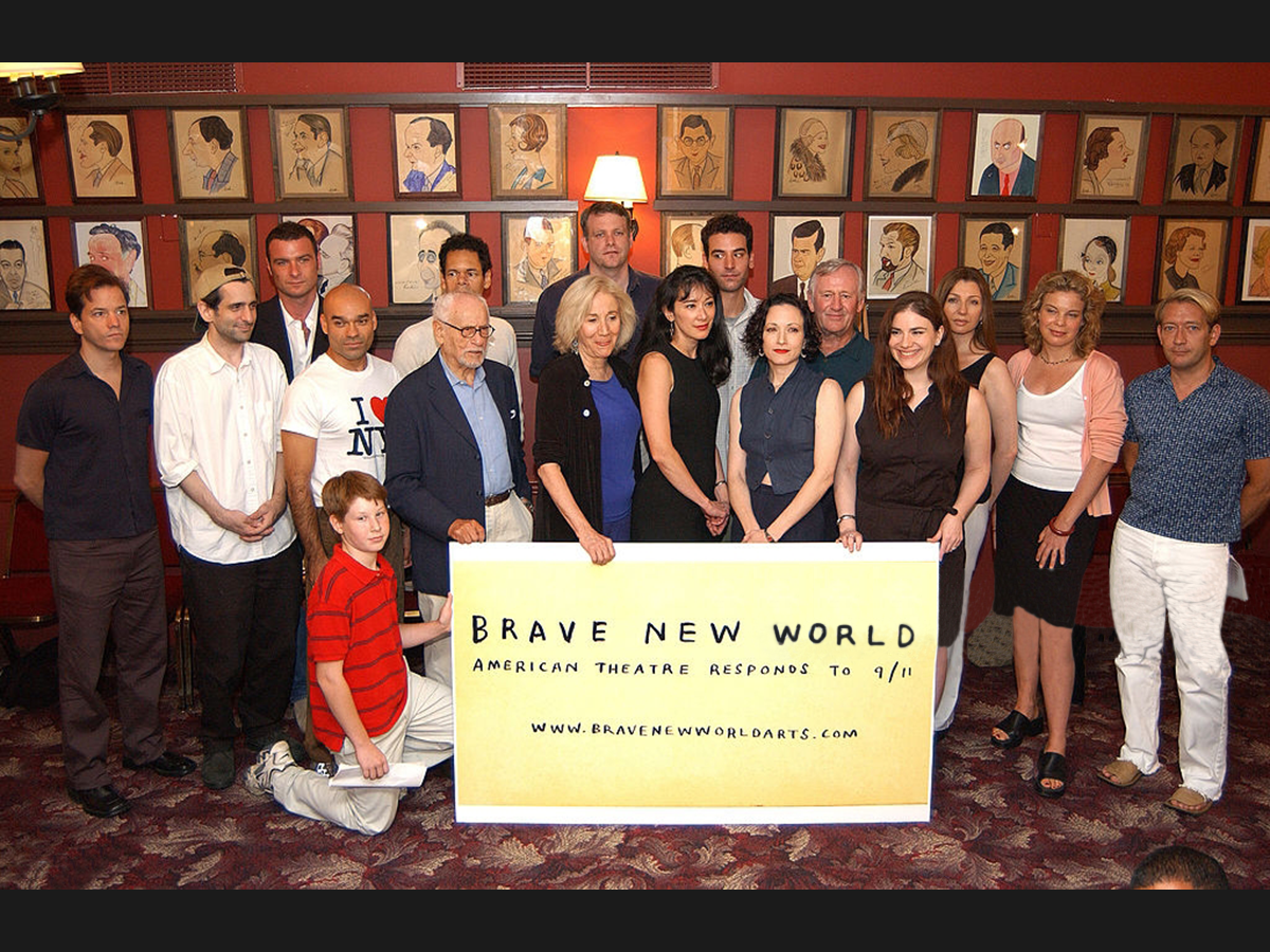 Brave New World Title Image